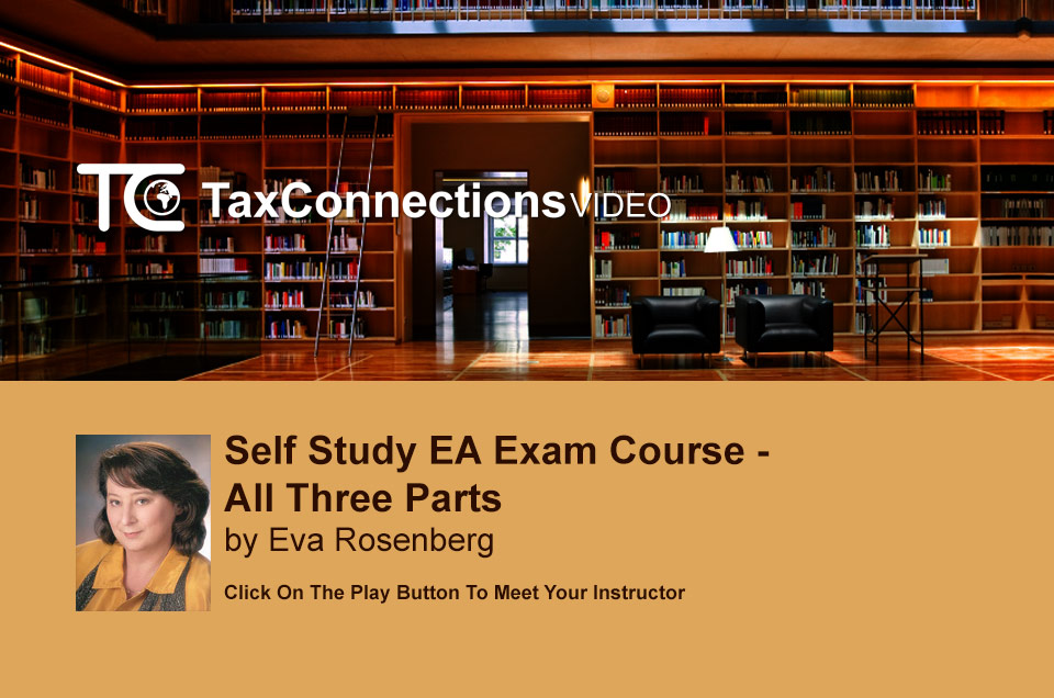 Self Study EA Exam Course - All Three Parts