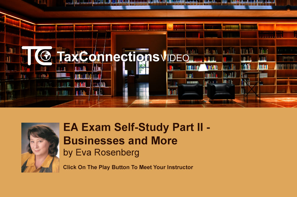 EA Exam Self-Study Part II - Businesses and More