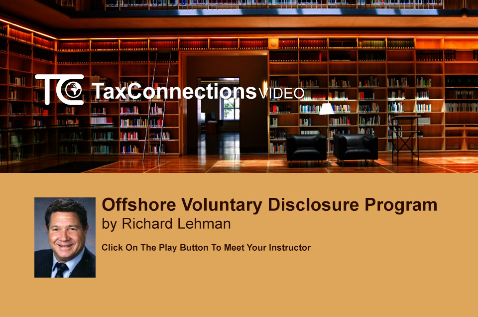Offshore Voluntary Disclosure Program