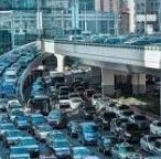 AUTOMOBILES IN TRAFFIC