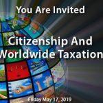 Citizenship Taxation Live Stream Event