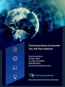 Corporate Tax Job Descriptions eBook Cover