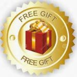 FREE GIFT GOLD RED