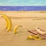 TaxConnections Picture - Banana Sunbathing - square