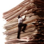 TaxConnections Picture - Climbing Paperwork - Square