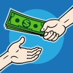 TaxConnections Picture - Dollar Handoff  - 1 - square