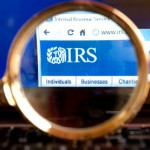 TaxConnections Picture - IRS Magnifying Glass 2 - square