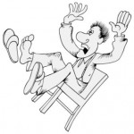 TaxConnections Picture - Man Falling Off Chair - square