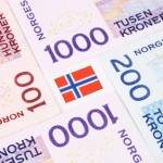 TaxConnections Picture - Norwegian Bank Notes &  Flag