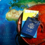TaxConnections Picture - Passport and World Map 1 - square