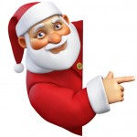 TaxConnections Picture - Santa Claus 2 - square