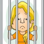 TaxConnections Picture - Woman Behind Bars 2 - square