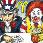 Uncle Sam and Ronald McD