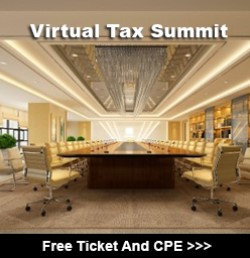 Complimentary Ticket To TaxConnections Virtual Tax Summit