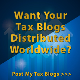 Tax Blogs Distributed